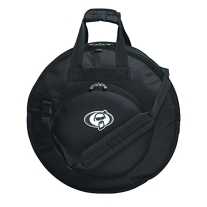 """Protection Racket Deluxe Cymbal Case 24"""" w/ Strap - Black"""