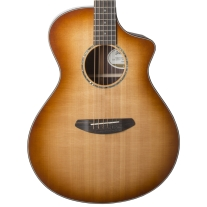 Breedlove Premier Concert CE Copper Burst Acoustic Electric Guitar w/ Case