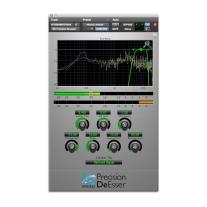 Metric Halo Precision DeEsser Plug-In