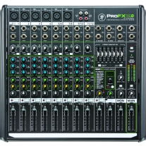 Mackie ProFX12 v2 USB Mixer with FX, 12-Channel