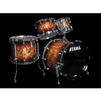 Tama Starclassic Performer Birc/Bubinga 4pc Shell Kit in Molten Brown Burst