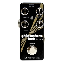 Pigtronix PTM Philosopher's Tone Micro Compressor / Sustain Pedal