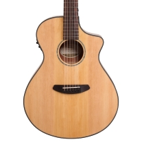 Breedlove Pursuit Series 12-String Concert AC/EL Guitar - Natural w/ Gigbag