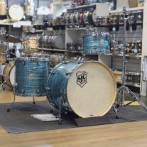 SJC Providence Series 3 Piece Shell Pack in Turquoise Ripple