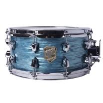 "SJC Providence Series 6.5x14"" Turquoise Ripple Snare"