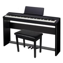 Casio PX-160CSU Privia 88-Key Piano W/CS67 Keyboard Stand & SP33 Pedal Board