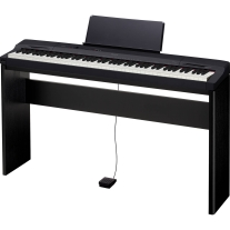 Casio PX-160CSU Privia 88-Key Digital Piano Matching CS-67 Keyboard Stand Black
