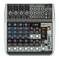 Behringer QX1202USB 12-Input 2-Bus Analog Mixer w/ Compression and FX