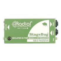 Radial SB-2 Passive Direct Box for Bass and Keys