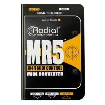 Radial MR5 MIDI to Radial JR5 Translator