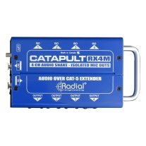 Radial Engineering Catapult RX4 Cat5 Audio Receiver (8 XLR Out)
