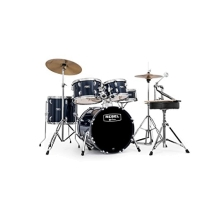 Mapex Rebel 5 Pc Complete Junior Set Up with Fast Size Toms Royal Blue