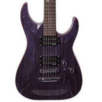 ESP LTD RC-600STP Rob Caggiano Signature Guitar in See Thru Purple FInish