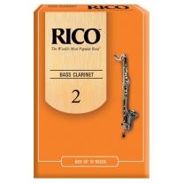 Rico Bass Clarinet 10-Pack 2 Strength
