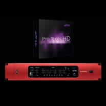 Focusrite RedNet 4 8-Channel Microphone / Line AD ProTools HD Bundle