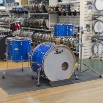 Pearl Reference Pure Music City Custom 3 Piece Shell Kit in Vintage Blue Sparkle