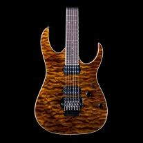 Ibanez Prestige Rg2920Zautge Rg Series Electric Guitar in Transparent Tiger Eye