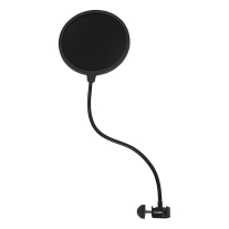 Gator Cases Rok-It Single-Layer Microphone Pop Filter with Clamp Mount