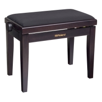 Roland RPB-220RW Piano Bench with Velour Seat - Rosewood