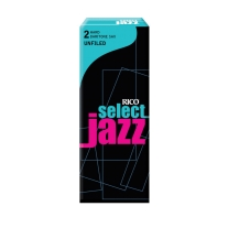 Rico Jazz Select Unfiled Baritone Saxophone Reeds, 2H