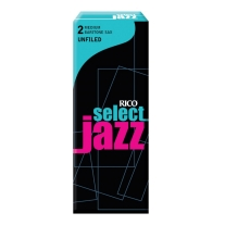 Rico Jazz Select Unfiled Baritone Saxophone Reeds, 2M