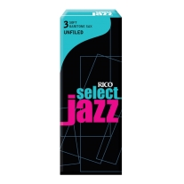 Rico Jazz Select Unfiled Baritone Saxophone Reeds, 3S