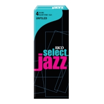 Rico Jazz Select Unfiled Baritone Saxophone Reeds, 4H