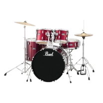 Pearl Roadshow RS525SC/C91 5-Piece Drum Set Wine Red