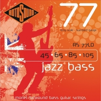 Rotosound RS77LD Jazz Bass Monel Flat Wound Strings