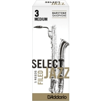 Rico Jazz Select Filed 3M Baritone Saxophone Reeds