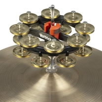 Rhythm Tech RT7423 Double Hat Trick with Brass Jingles