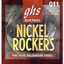 GHS Strings R RM Rollerwound Pure Nickel Electric Guitar Strings (.011-.050)