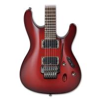 Ibanez S520BBS S Series Electric Guitar in Blackberry Sunburst