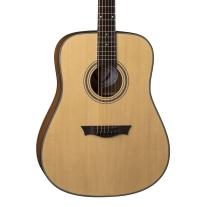 Dean Guitars St Augustine Dreadnought Acoustic Guitar in Natural Satin