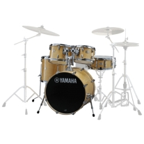 "Yamaha Stage Custom Birch 5-Piece Shell Pack with 22"" Bass Drum, Natural Wood"