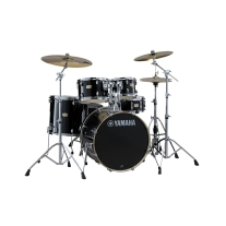 "Yamaha Stage Custom Birch 5-Piece Shell Pack - 22"" Kick, Raven Black"