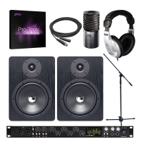 Focusrite Scarlett 18i20, Aston Origin Mic, NF80 Monitors and Pro Tools Bundle
