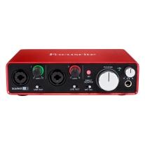 Focusrite Scarlett 2i2 (2nd Gen) 2 In / 2 Out USB Audio Interface