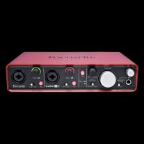 Focusrite Scarlett 2i4 USB Recording Interface - 1st Gen