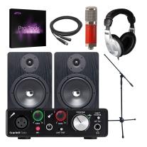 Focusrite Scarlett Solo, Avantone CK6, NF80 Monitors, & ProTools Subscription