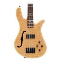 Spector SCORE4NATFL Core 4 Aged Natural Gloss Fretless Bass Guitar