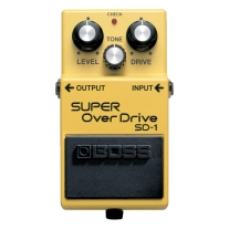 Boss SD-1 Super Overdrive Distortion Pedal