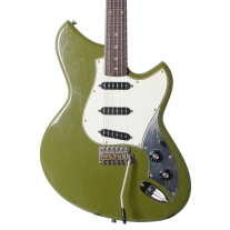 Novo Serus S Electric Guitar In Uffington Green Light Distress