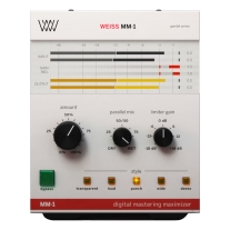 Softube Weiss Mm-1 Mastering Maximizer - Software Limiter for Mixing & Mastering