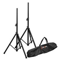 Bespeco SH80N Speaker Stand Pair with Carry Bag