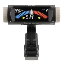Korg SHG1 Sledgehammer Clip-On Tuner for Guitar and Bass