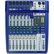 Soundcraft Signature 10 10-Input Analog Mixer W/Onboard Effects