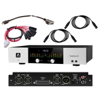 Apogee Symphony I/O Chassis 2x6 with Avid DB25XLR and Mogami Studio Gold XLR 3'