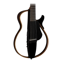 Yamaha SLG200S Steel String Silent Guitar, Translucent Black