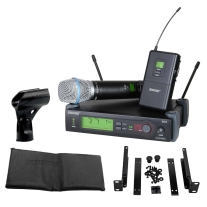 Shure SLX124/85/SM58 Combo System Lapel and Handheld Wireless System
